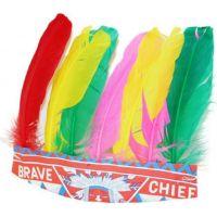 Rappa Čelenka indiánska s farebným perím