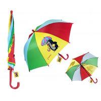 Krteček Deštník se dvěma obrázky