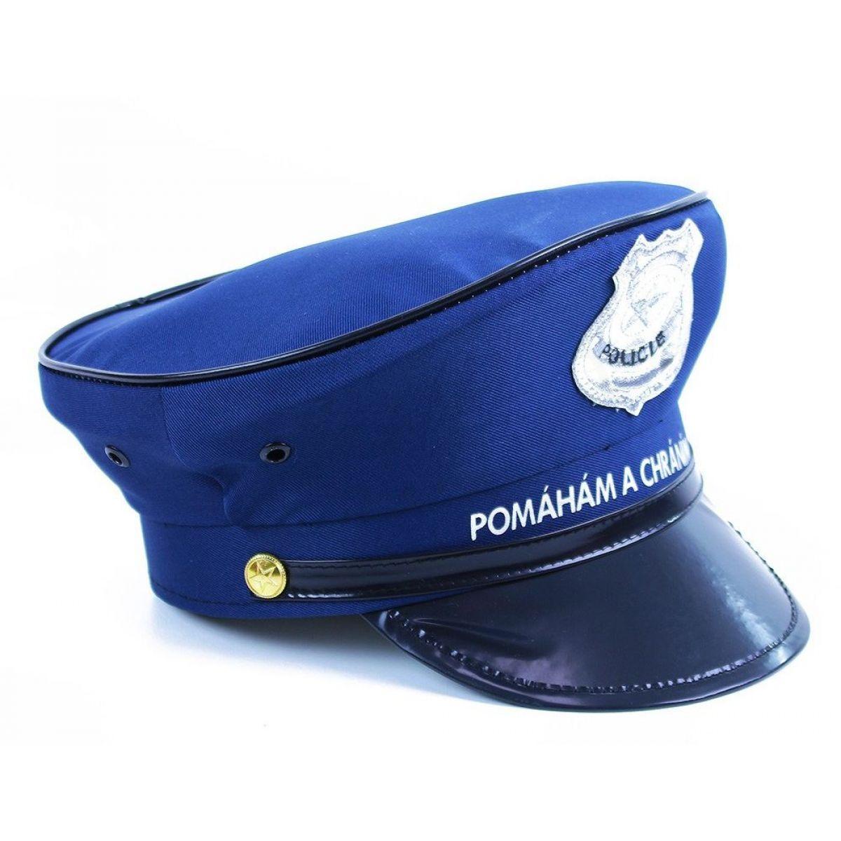 dbb09246ff7 Rappa Dětská policejní čepice 2 Rappa Dětská policejní čepice 3