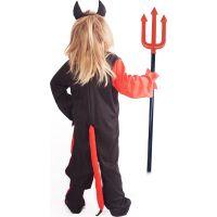 Rappa Dětský kostým čert s čelenkou velikost M 4