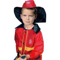 Rappa Dětský kostým hasič 2