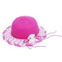 Rappa Dětský slaměný klobouk