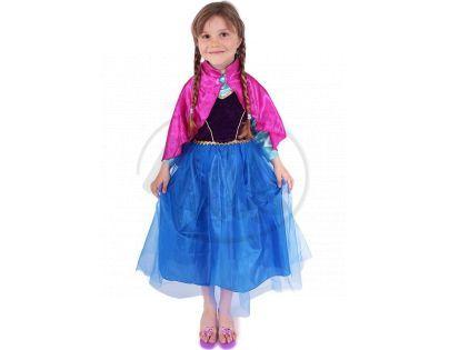 Kostým princezna zimní Anička Deluxe vel. M