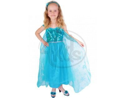 Kostým princezna zimní Eliška Deluxe vel. S