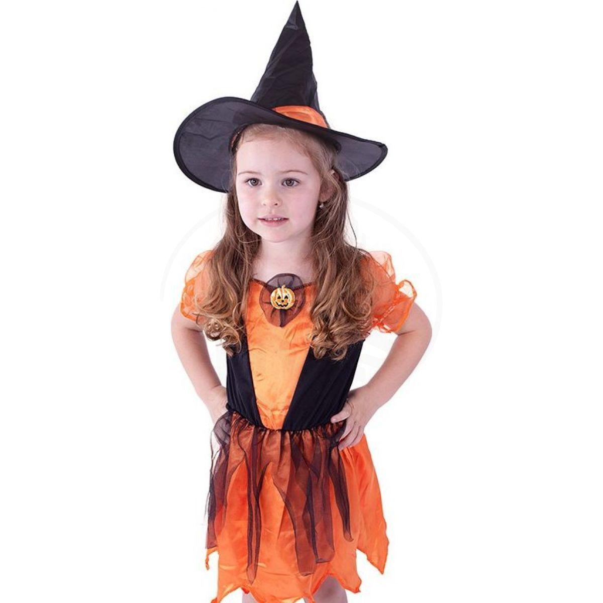 51612e774 Kostým Čarodějnice s dýní vel. M | 4kids