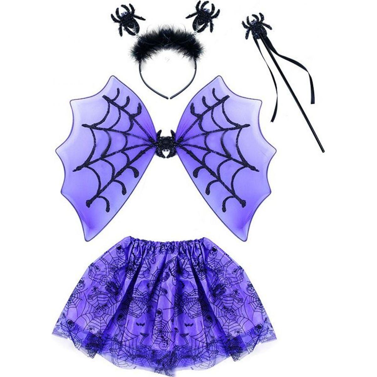 Rappa Kostým Pavouk s křídly