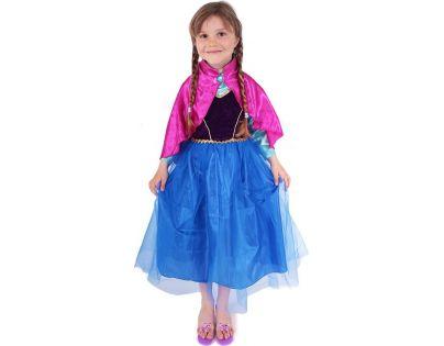 Kostým princezna zimní Anička Deluxe vel. S