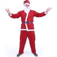 Rappa Kostým Santa Claus bez vousů