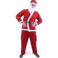 Rappa Kostým Santa Claus bez vousů 2