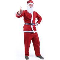 Rappa Kostým Santa Claus bez vousů 3