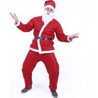 Rappa Kostým Santa Claus bez vousů 4
