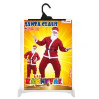 Rappa Kostým Santa Claus bez vousů 5