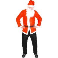 Rappa Kostým Santa Claus bunda, čepice a vousy