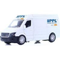 Rappa Kovové auto PPL s otváracími dverami
