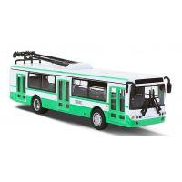 Rappa Kovový trolejbus 16 cm na zpětný chod