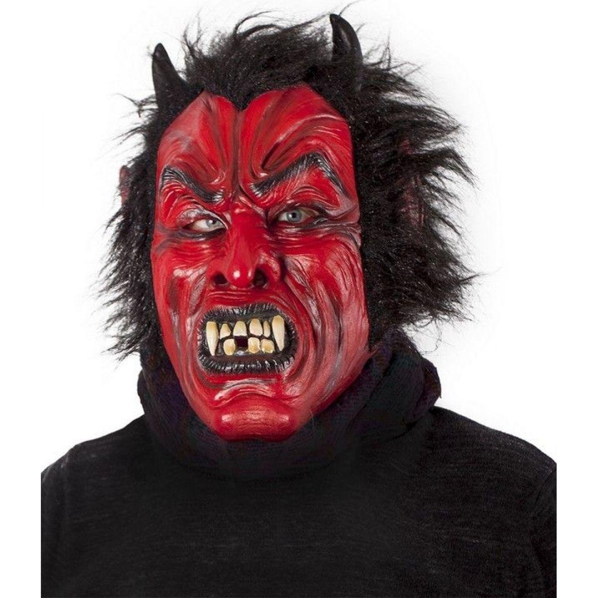 Rappa Maska čert s vlasy