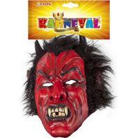 Rappa Maska čert s vlasy 2