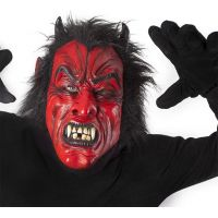 Rappa Maska čert s vlasy 4