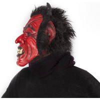 Rappa Maska čert s vlasy 5