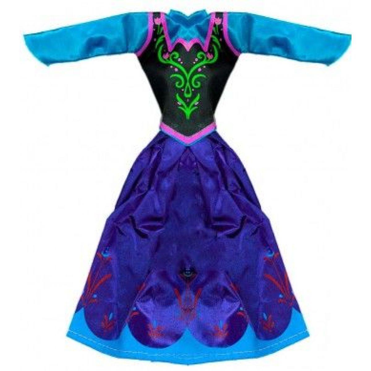 Rappa Oblečení pro panenku zimní království tmavě modré