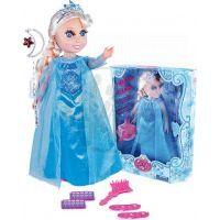 Panenka zimní princezna blond s příslušenstvím 2
