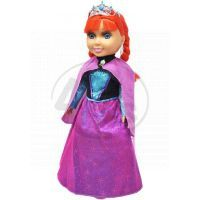 Panenka zimní princezna zrzka s příslušenstvím