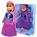 Panenka zimní princezna zrzka s příslušenstvím 2