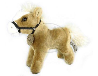 Plyšový kůň stojící 23 cm