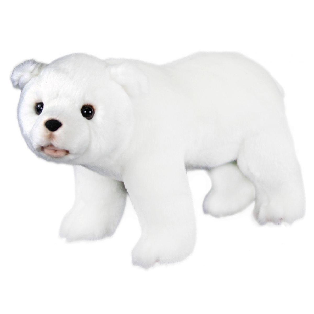 Plyšový lední medvěd stojící 28 cm