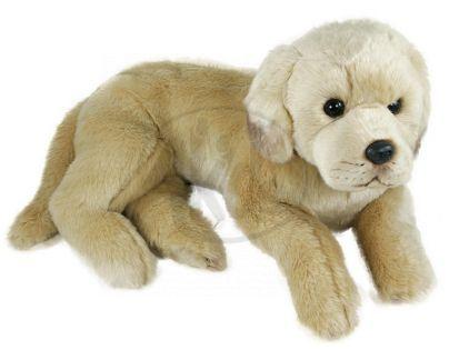 Plyšový pes labrador 45 cm
