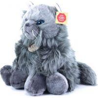Rappa Plyšová kočka britská sedící 30 cm