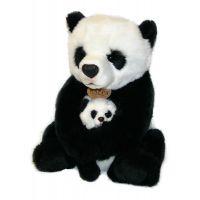 Rappa Plyšová panda s mládětem 27 cm