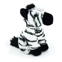 Rappa Plyšová zebra sedící 18 cm