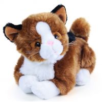 Rappa Plyšový kamarád kočka Mína interaktivní 25 cm
