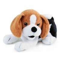 Rappa plyšový kamarád pes Bobík interaktivní 25 cm