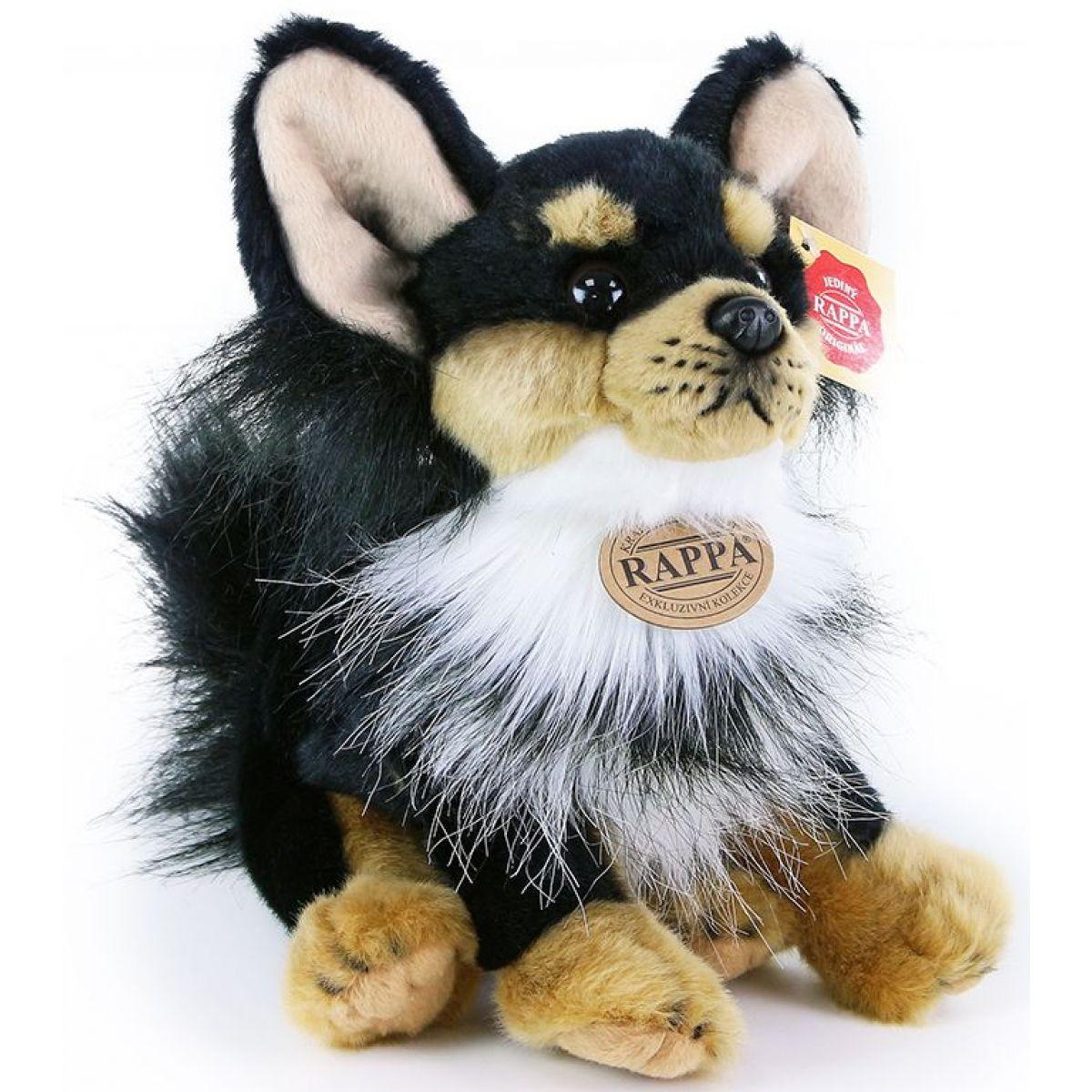 Rappa Plyšový pes čivava sediaci 24 cm