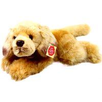 Rappa plyšový pes ležící  30 cm Retrívr