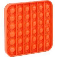 Rappa Pop it praskání bublin čtverec oranžový