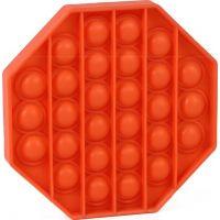 Rappa Pop it praskání bublin osmihran oranžový