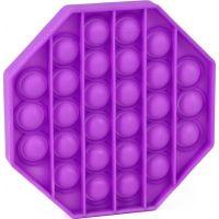 Rappa Pop it praskání bublin osmihran fialový