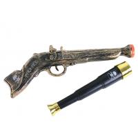 Rappa Sada pirátska - pištole a ďalekohľad