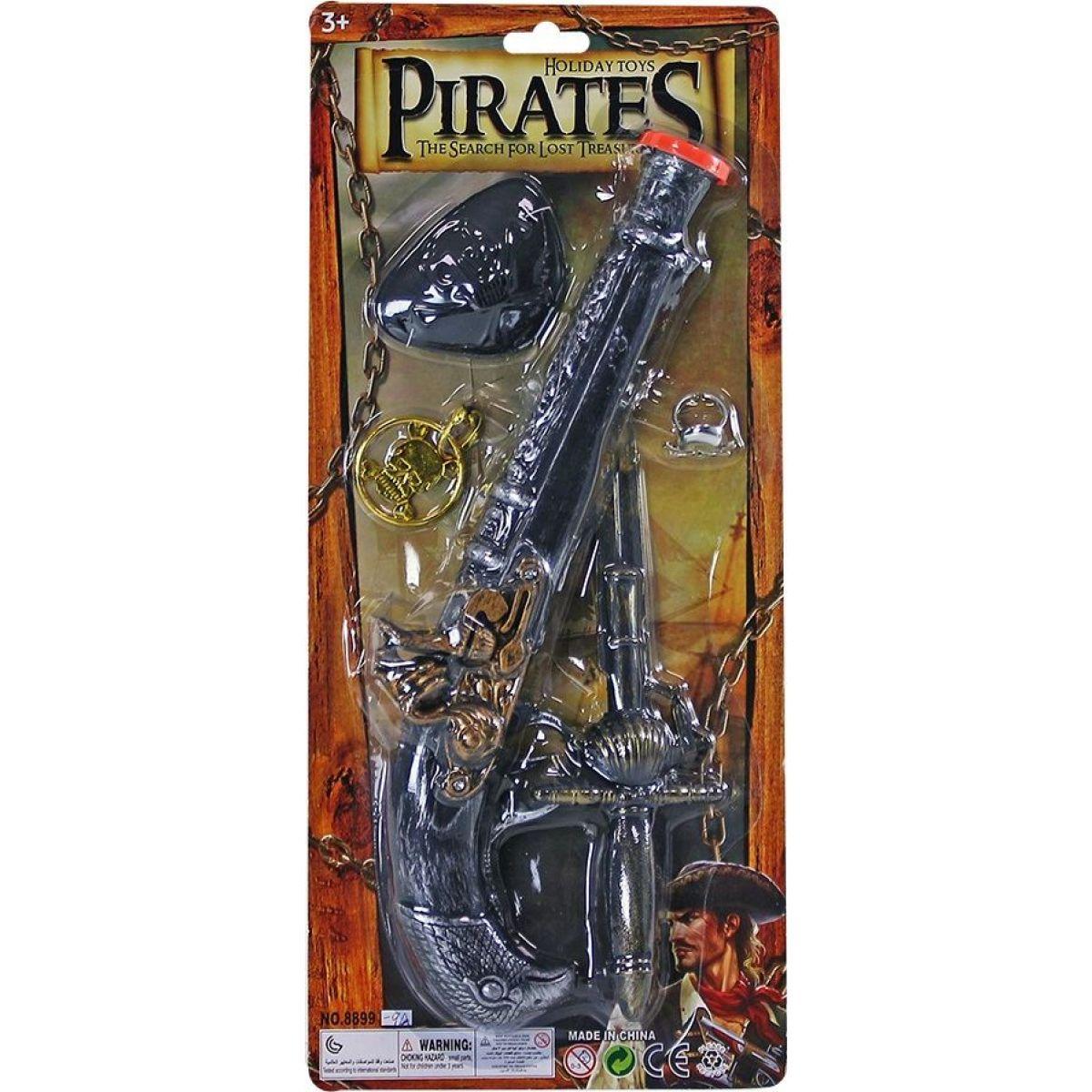 Rappa Sada pirátska s príslušenstvom - Poškodený obal