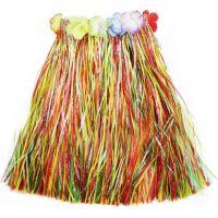 Rappa Sukně Hawaii dětská barevná 45 cm