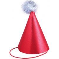 Rappa Vianočné brokátový klobúčik