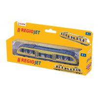 Rappa Vlak žlutý Regiojet regionální 4