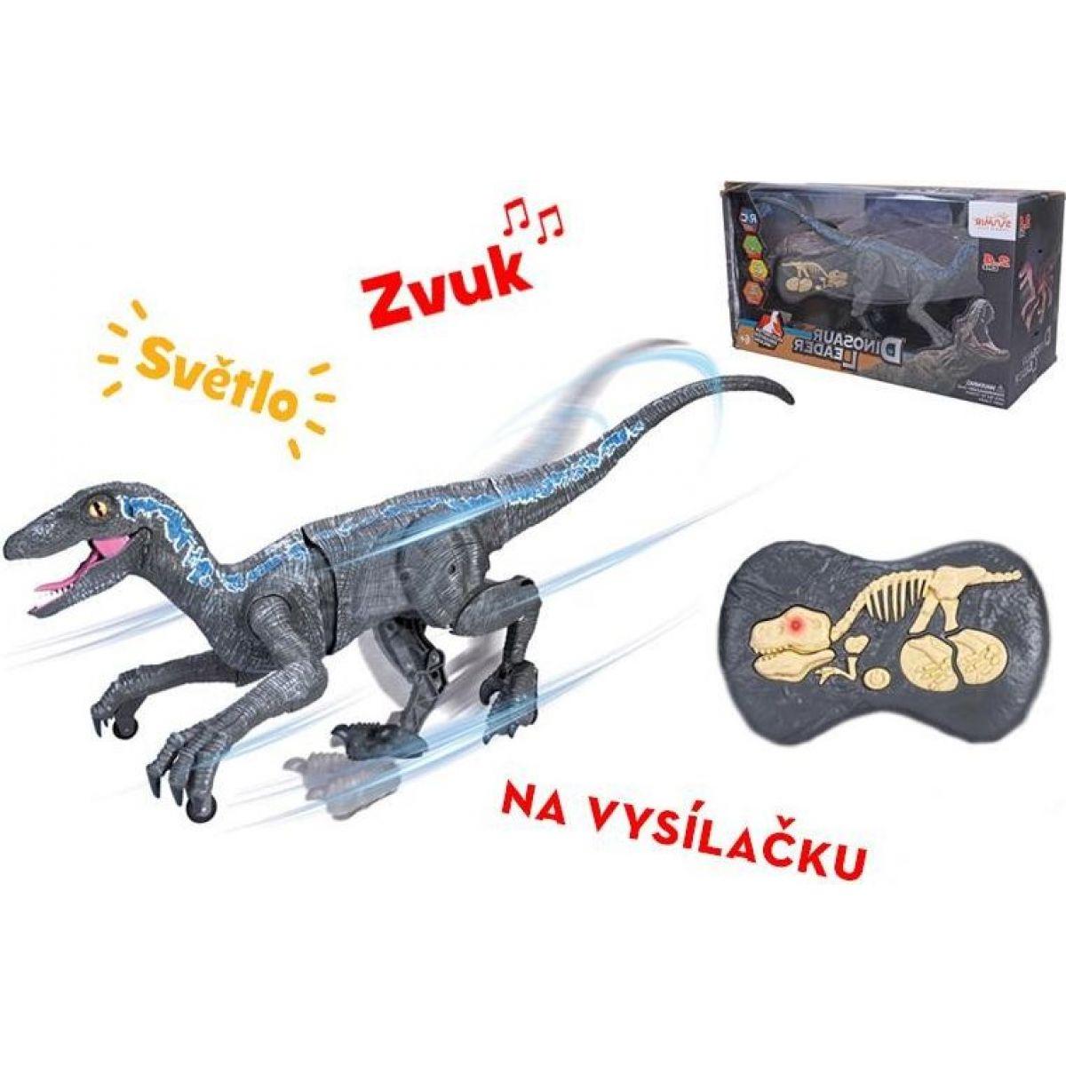 Raptor RC na dálkové ovládání šedý 45 cm