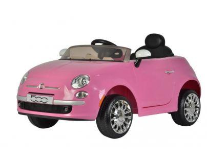 Rastar Elektrické auto Fiat 500 Růžová