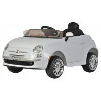 Rastar Elektrické auto Fiat 500 Bílá
