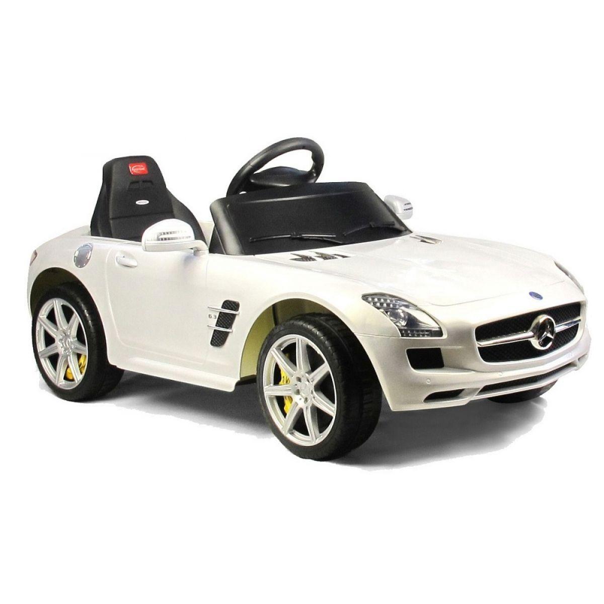 Rastar elektrické auto MercedesBenz SLS AMG bílá