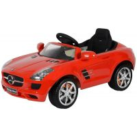 Rastar Elektrické auto Mercedes-Benz SLS AMG Červená